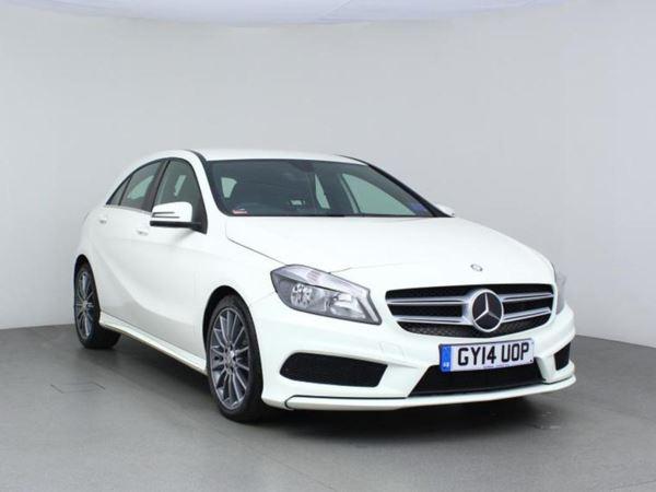 2014 (14) Mercedes-Benz A Class A220 CDI BlueEFFICIENCY AMG Sport Auto - Leather - Bluetooth - £20 Tax 5 Door Hatchback