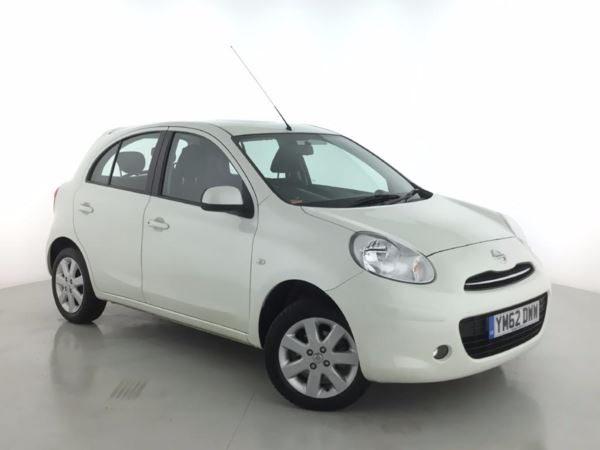 2013 (62) Nissan Micra 1.2 Acenta - £30 Tax - Cruise - Alloys - 1 Owner With Service History 5 Door Hatchback