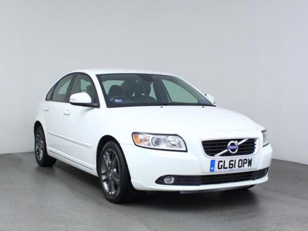 2012 (61) Volvo S40 DRIVe [115] SE Lux Edition - Sat Nav - Leather - Zero Tax - Parksensors - 4 Door Saloon