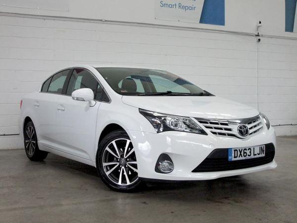 2013 (63) Toyota Avensis 2.0 D-4D Icon - Sat Nav - Bluetooth - £30 Tax - 1 Owner - DAB Radio 4 Door Saloon