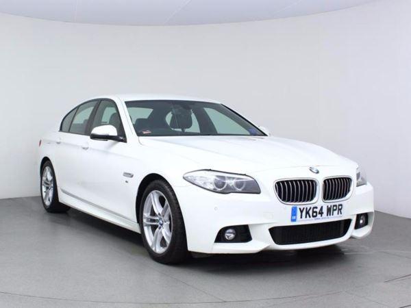 2014 (64) BMW 5 Series 520d M Sport Step Auto - Sat Nav - £1550 Of Extras - 1 Owner - Aircon 4 Door Saloon