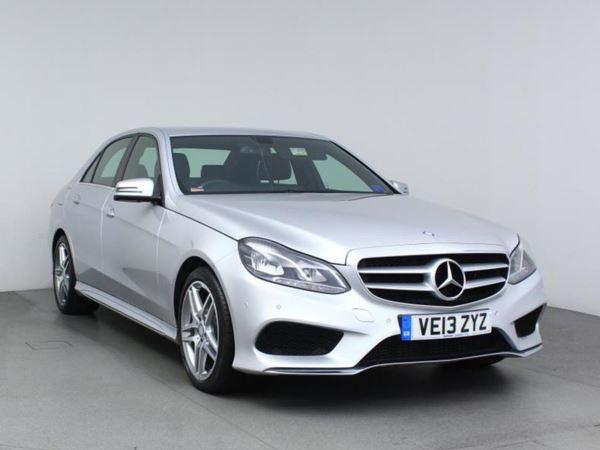 2013 (13) Mercedes-Benz E Class E220 CDI AMG Sport 7G-Tronic Auto - Sat Nav - Leather - Bluetooth - 1 Owner 4 Door Saloon