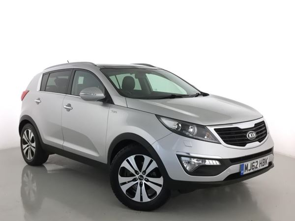 2012 (62) Kia Sportage 2.0 CRDi KX-3 5dr Auto 5 Door Estate