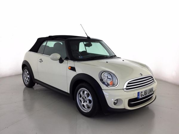 2011 (61) MINI Convertible 1.6 Cooper D 2 Door Convertible