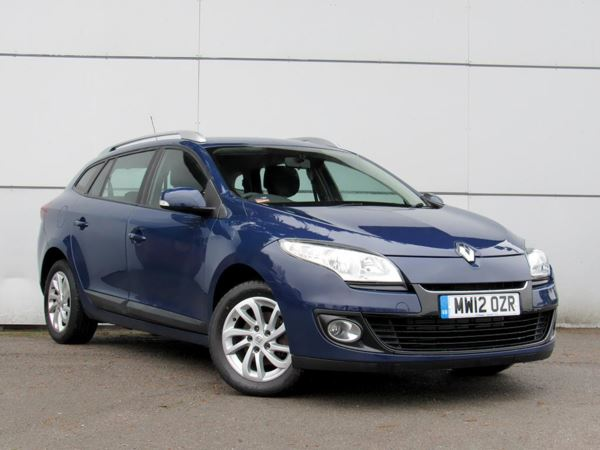 2012 (12) Renault Megane 1.5 dCi 110 Expression+ 5dr 5 Door Estate