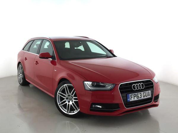 2013 (63) Audi A4 2.0 TDI 177 S Line 5dr Multitronic 5 Door Estate