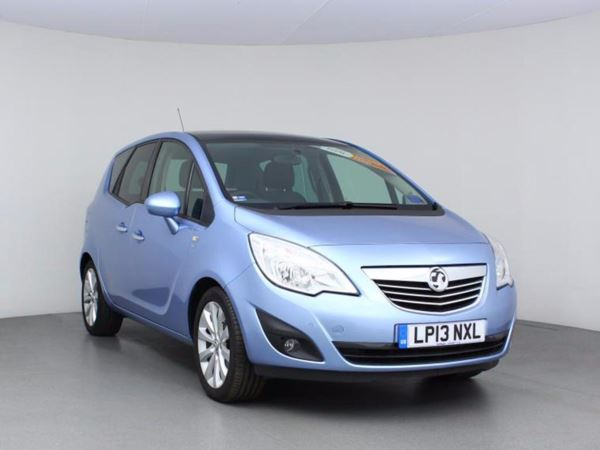 2013 (13) Vauxhall Meriva 1.4T 16V SE- MPV 5 Seats - Panroof - £920 Of Extras - Parksensor - 1 Owner 5 Door MPV