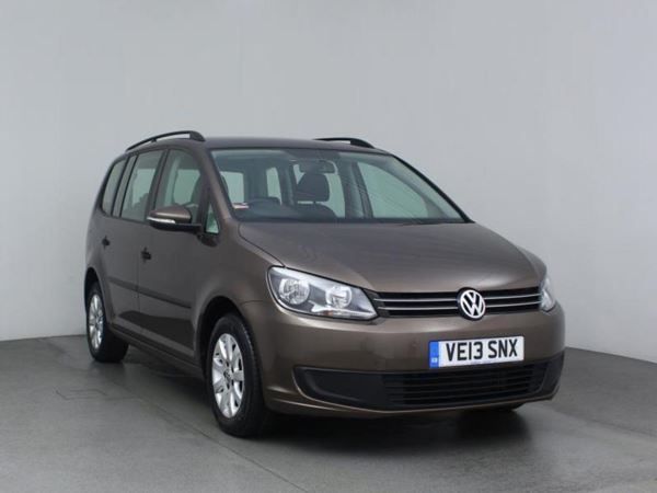 2013 (13) Volkswagen Touran 1.6 TDI 105 BlueMotion Tech S - MPV 7 Seats 5 Door MPV