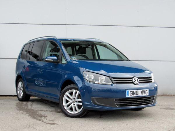 2011 (61) Volkswagen Touran 1.6 TDI 105 BlueMotion Tech SE 5dr - MPV 7 Seats 5 Door MPV