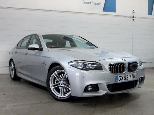 2013 (63) BMW 5 Series 520d M Sport Step Auto 4 Door Saloon