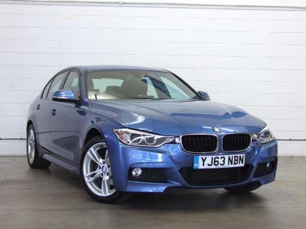 2013 (63) BMW 3 Series 320d xDrive M Sport - £4130 Of Extras - Sat Nav - Bluetooth - Leather 4 Door Saloon
