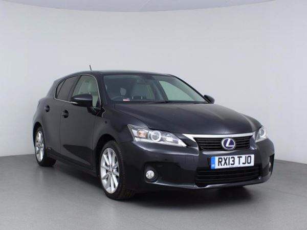 2013 (13) Lexus CT 200h 1.8 Luxury CVT Auto - Leather - Bluetooth - Zero Tax - 1 Owner 5 Door Hatchback