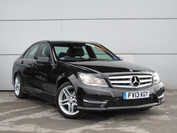 2013 (13) Mercedes-Benz C Class C220 CDI BlueEFFICIENCY AMG Sport Auto - Leather - Bluetooth - 1 Owner 4 Door Saloon
