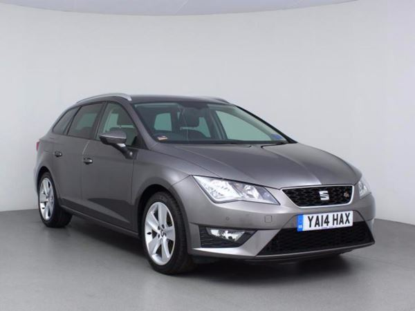 2014 (14) SEAT Leon 2.0 TDI FR - Bluetooth - £20 Tax - 1 Owner - Usb - 5 Door Estate