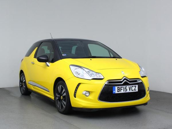 2015 (15) Citroen DS3 1.6 e-HDi Airdream DStyle 3dr [91g/km] 3 Door Hatchback