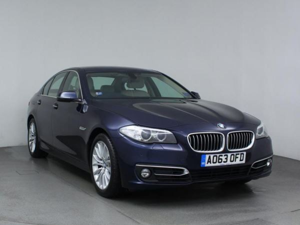2013 (63) BMW 5 Series 520d Luxury 4dr Step Auto 4 Door Saloon