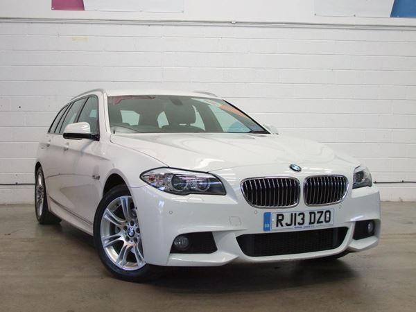 2013 (13) BMW 5 Series 520d M Sport Step Auto [Start Stop] - Sat Nav - £6300 Of Extras - Leather 5 Door Estate