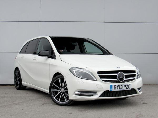 2013 (13) Mercedes-Benz B Class B200 CDI BlueEFFICIENCY Sport Auto - Panroof - £1460 Of Extras - Leather 5 Door Hatchback