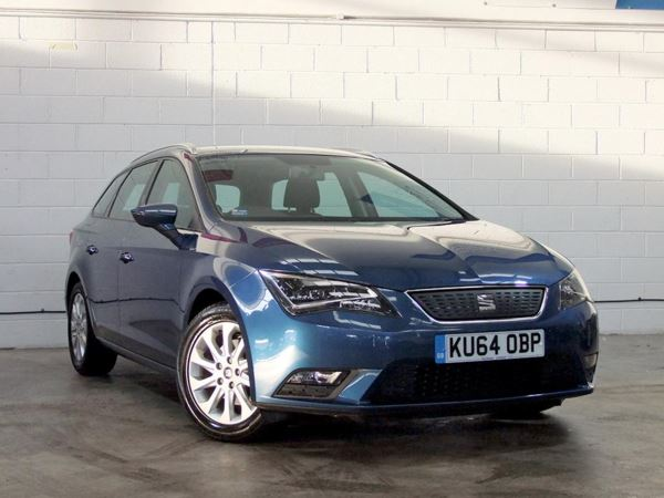 2014 (64) SEAT Leon 1.6 TDI Ecomotive SE 5dr [Technology Pack] 5 Door Estate