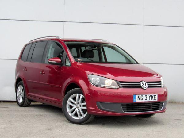 2013 (13) Volkswagen Touran 1.6 TDI 105 BlueMotion Tech SE - MPV 7 Seats 5 Door MPV