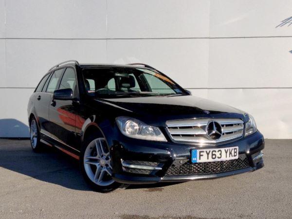 2013 (63) Mercedes-Benz C Class C220 CDI BlueEFFICIENCY AMG Sport 5dr 5 Door Estate