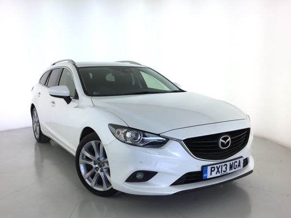 2013 (13) Mazda 6 2.2d [175] Sport Nav - Sat Nav - Leather - Bluetooth - 1 Owner - 5 Door Estate