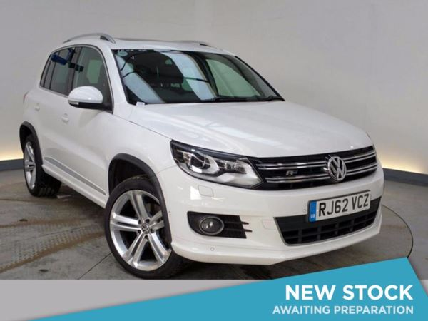 2012 (62) Volkswagen Tiguan 2.0 TDi BlueMotion Tech R Line 5dr 5 Door 4x4