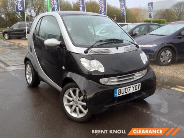 2007 (07) smart city-coupe Passion Auto 2 Door Coupe