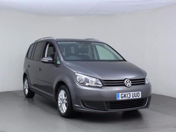 2013 (13) Volkswagen Touran 1.6 TDI 105 BlueMotion Tech SE - MPV 7 Seats - Bluetooth 5 Door MPV