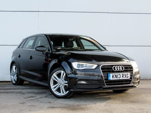 2013 (13) Audi A3 2.0 TDI S Line - Leather - Bluetooth - £20 Tax - 1 Owner 5 Door Hatchback