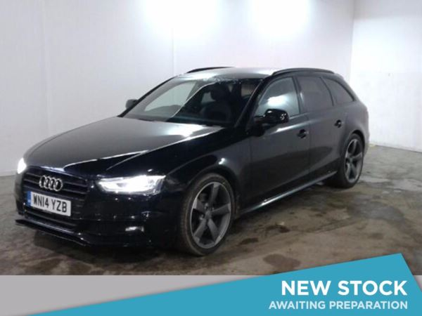 2014 (14) Audi A4 2.0 TDI 150 Black Edition 5dr 5 Door Estate