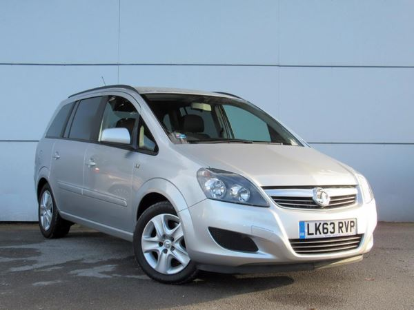 2013 (63) Vauxhall Zafira 1.7 CDTi ecoFLEX Exclusiv [110] 5dr - MPV 7 Seats 5 Door MPV