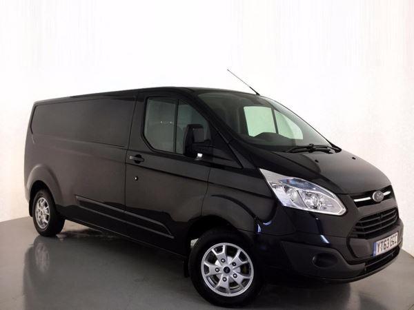 2013 (63) Ford Transit Custom 2.2 TDCi 125ps Low Roof Limited Door Panel Van