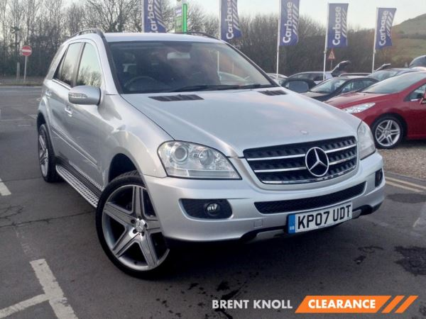 2007 (07) Mercedes-Benz M Class ML320 CDI SE Tip Auto 5 Door 4x4