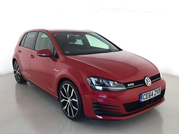 2014 (64) Volkswagen Golf 2.0 TDI GTD 5dr 5 Door Hatchback