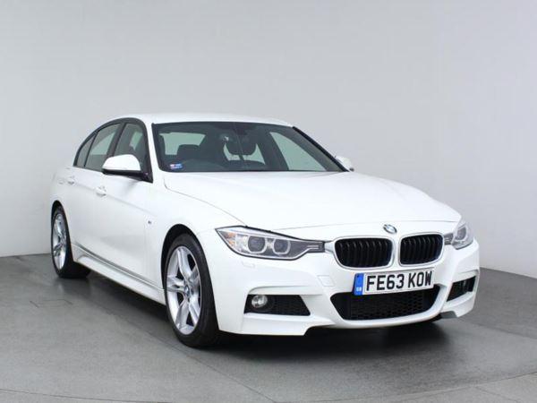 2013 (63) BMW 3 Series 320d M Sport Step Auto - £3605 Of Extras - Sat Nav - Leather - Bluetooth 4 Door Saloon