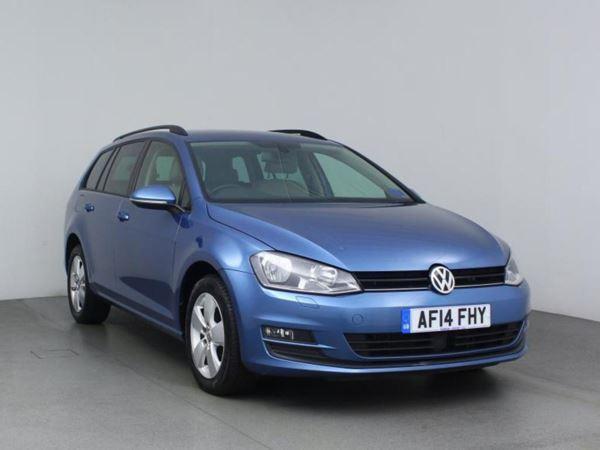 2014 (14) Volkswagen Golf 2.0 TDI SE DSG Auto - Bluetooth - £1540 Of Extras - 1 Owner - Cruise - 5 Door Estate