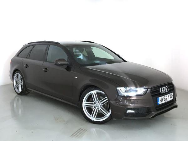 2012 (62) Audi A4 2.0 TDI 177 Black Edition 5dr 5 Door Estate
