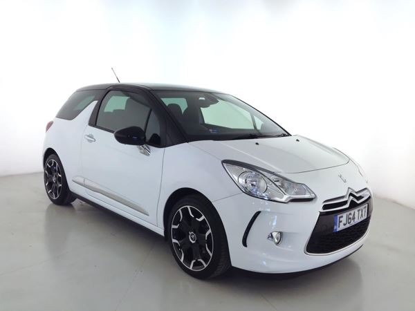 2014 (64) Citroen DS3 1.6 e-HDi Airdream DStyle Plus - Bluetooth - Zero Tax - 1 Owner 3 Door Hatchback