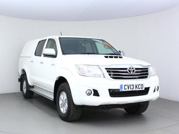 2013 (13) Toyota Hilux HL3 D/Cab Pick Up 2.5 D-4D 4WD 144 - 1 Owner - Low Miles - Aircon - History Door Pick Up