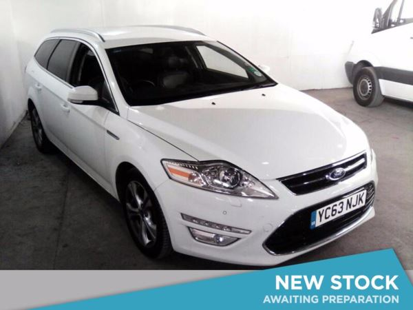 2013 (63) Ford Mondeo 2.0 TDCi 140 Titanium X Business Edition 5dr 5 Door Estate