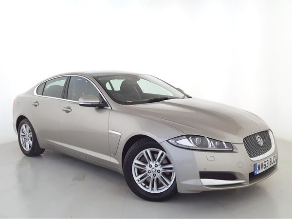 2013 (63) Jaguar XF 2.2d [200] Luxury Auto - £2550 Of Extras - Sat Nav - Leather - 1 Owner 4 Door Saloon