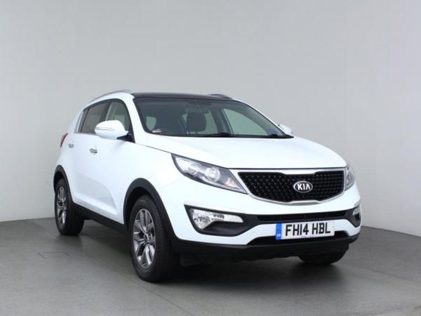 2014 (14) Kia Sportage 1.7 CRDi ISG 2 - Panroof - Bluetooth - 1 Owner - Aircon - Cruise 5 Door 4x4