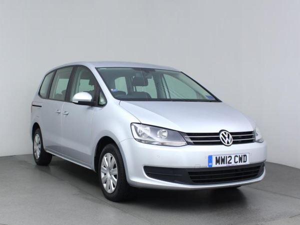 2012 (12) Volkswagen Sharan 2.0 TDI CR BlueMotion Tech 140 S- MPV 7 Seats - 1 Owner - £1130 Of Extras - 5 Door MPV