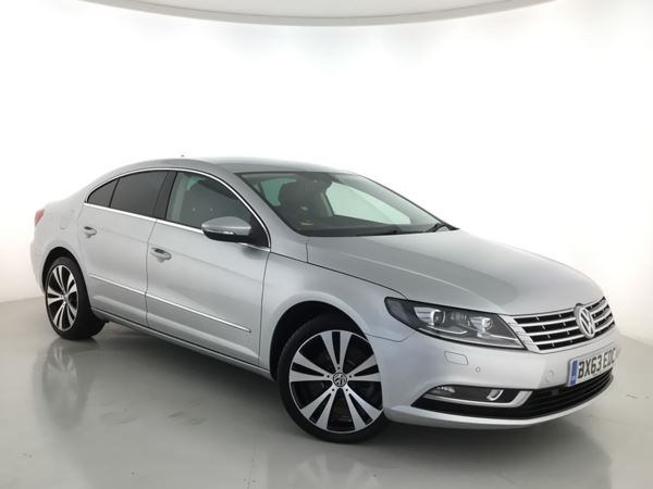 2013 (63) Volkswagen Cc 2.0 TDI 170 BlueMotion Tech GT DSG Auto - Sat Nav - Leather - Bluetooth 4 Door Saloon