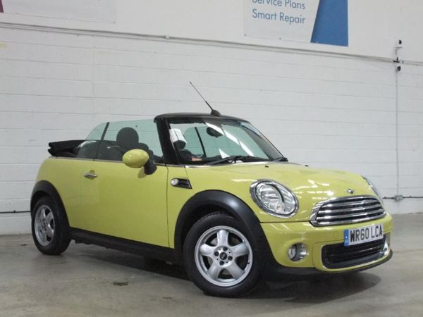 2010 (60) MINI Convertible 1.6 One - £1875 Of Extras - Bluetooth - 1 Owner - Low Miles - Aircon 2 Door Convertible