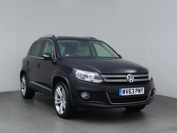 2013 (63) Volkswagen Tiguan 2.0 TDi BlueMotion Tech SE 4MOTION 5dr - SUV 5 Seats 5 Door Estate