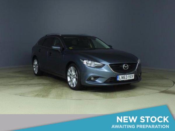 2013 (63) Mazda 6 2.2d Sport Nav 5dr 5 Door Estate