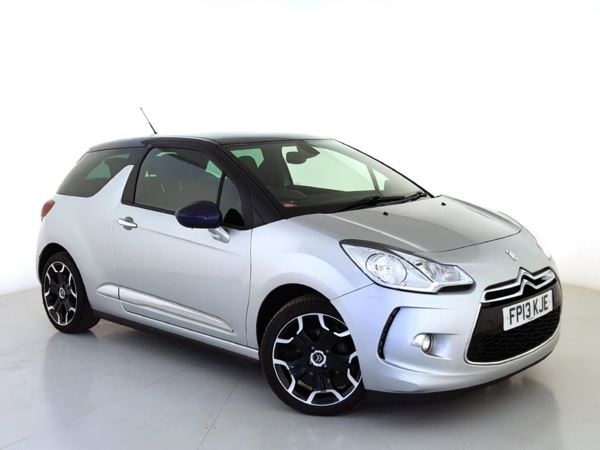 2013 (13) Citroen DS3 1.6 e-HDi Airdream DStyle Plus - £1145 Of Extras - Leather - Zero Tax 3 Door Hatchback