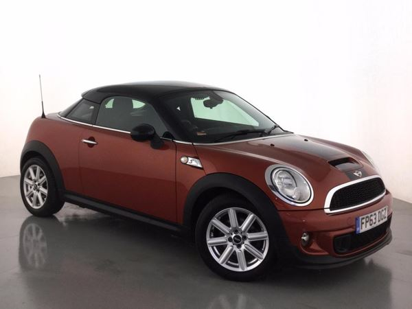 2013 (63) MINI Coupe 2.0 Cooper S D 3dr 3 Door Coupe